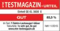 Electric Leaf Vacuum GE-EL 3000 E Testmagazin - Logo (oeffentlich) 1