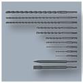 Bohrhammer-Set TC-RH 900 Kit Detailbild ohne Untertitel 5