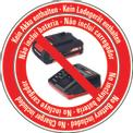 Svettatoi a batteria GE-LC 18 Li T-Solo Logo / Button 1