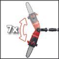 Motosierra telescópica GE-LC 18 Li T - Solo Detailbild ohne Untertitel 2