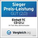 Trapano a batteria TC-CD 12 Li Testmagazin - Logo (oeffentlich) 1
