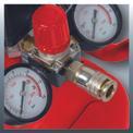 Kompressor TE-AC 270/24/10 Detailbild ohne Untertitel 4