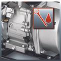 Benzines vízszivattyú GE-PW 45 Detailbild ohne Untertitel 2