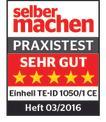 Schlagbohrmaschine TE-ID 1050/1 CE Testmagazin - Logo (oeffentlich) 1