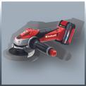 Smerigliatrice angolare a batteria TE-AG 18 Li Kit Detailbild ohne Untertitel 2