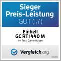 Elektro-Bodenhacke GC-RT 1440 M Testmagazin - Logo (oeffentlich) 1