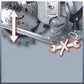 Handkreissäge TC-CS 1200 Detailbild ohne Untertitel 1