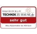 Akkus fűnyíró GE-CM 36 Li M Kit (2x3,0Ah) Testmagazin - Logo (oeffentlich) 1