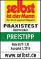 Debitor cu sistem de glisare TE-SM 2131 Dual Testmagazin - Logo (oeffentlich) 1