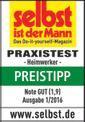 Zug-Kapp-Gehrungssäge TE-SM 2131 Dual Testmagazin - Logo (oeffentlich) 1