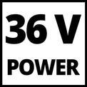 Aspiator resturi vegetale fara fir GE-CL 36 Li E-Solo VKA 3