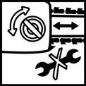 Seghe a catena a batteria GE-LC 18 Li Kit VKA 3