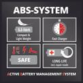Seghe a catena a batteria GE-LC 18 Li Kit Detailbild ohne Untertitel 1
