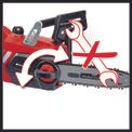 Akku-Kettensäge GE-LC 18 Li Kit Detailbild ohne Untertitel 2