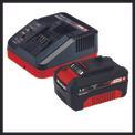 Seghe a catena a batteria GE-LC 18 Li Kit Detailbild ohne Untertitel 8