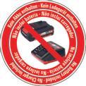 Ferastrau fara fir GE-LC 18 Li-Solo Logo / Button 2