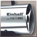 Heißluftgenerator HGG 110/1 Niro (DE/AT) Detailbild ohne Untertitel 2