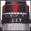 Avvitatore a percussione a batteria TE-CD 18 Li-i BL (2x2,0Ah) Detailbild ohne Untertitel 3