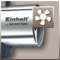 Heißluftgenerator HGG 200 Niro Vario (DE/AT) Detailbild ohne Untertitel 1