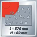 Steintrennmaschine TE-SC 570 L VKA 1