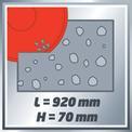 Steintrennmaschine TE-SC 920 L VKA 1