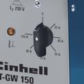 Schutzgas-Schweissgerät BT-GW 150 Detailbild ohne Untertitel 3