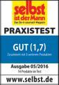 Akku-Gras- und Strauchschere GE-CG 10,8 Li Testmagazin - Logo (oeffentlich) 2