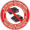 Ascutitor lant ferastrau fara fir GE-CS 18 Li-Solo Logo / Button 1