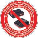 Sega circolare a batteria TE-CS 18 Li-Solo Logo / Button 1