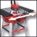 Tischkreissäge TC-TS 2025/1 U Detailbild ohne Untertitel 3