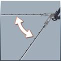 Electric Pole Hedge Trimmer GC-HH 9048 Detailbild ohne Untertitel 2
