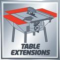 Tischkreissäge TC-TS 2025/1 UA VKA 2