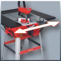 Asztali körfűrész TC-TS 2025/1 UA Detailbild ohne Untertitel 5