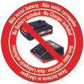 Trimmer fara fir GE-CT 18 Li-Solo Logo / Button 1