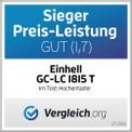 Akku-Hochentaster GC-LC 1815 T Testmagazin - Logo (oeffentlich) 1