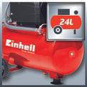 Kompressor TC-AC 190/24/8 Detailbild ohne Untertitel 2