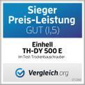 Trockenbauschrauber TH-DY 500 E Testmagazin - Logo (oeffentlich) 1