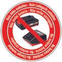 Akkus sövényvágó GE-CH 1855/1 Li-Solo Logo / Button 1