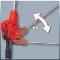 Electric Pole Hedge Trimmer GC-HH 5047 Detailbild ohne Untertitel 2