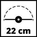 Elektromos fűszegélynyíró GC-ET 2522 VKA 2