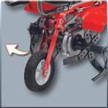 Benzin-Bodenhacke GC-MT 1636/1 Detailbild ohne Untertitel 4
