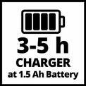 Trapano a batteria TC-CD 18-2 Li (1x1,5Ah) VKA 3