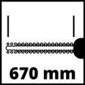 Elektromos sövényvágó GE-EH 7067 VKA 1
