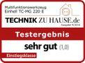 Multifunctional Tool TC-MG 220 E Testmagazin - Logo (oeffentlich) 1