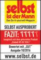Steintrennmaschine TE-SC 920 L Testmagazin - Logo (oeffentlich) 1