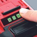 Batteria 18V 2,6Ah P-X-C Plus Detailbild ohne Untertitel 1