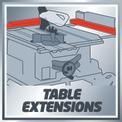 Tischkreissäge TE-CC 2025 UF VKA 2