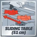 Asztali körfűrész TE-CC 2025 UF VKA 1