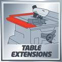 Tischkreissäge TE-TS 2025 UF VKA 1