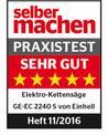 Elektro-Kettensäge GE-EC 2240 S Testmagazin - Logo (oeffentlich) 1